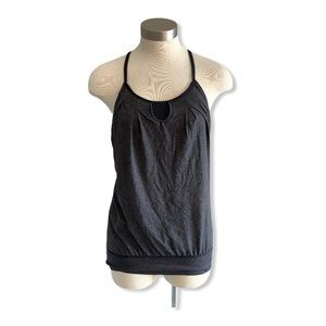 Lululemon Tank Top Built In Bra Keyhole